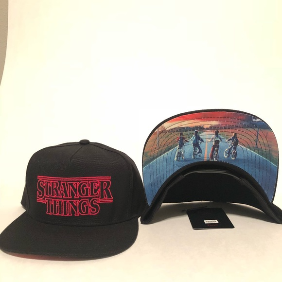 Loungefly NETFLIX Stranger Things SnapBack hat be0c43a1e4ef